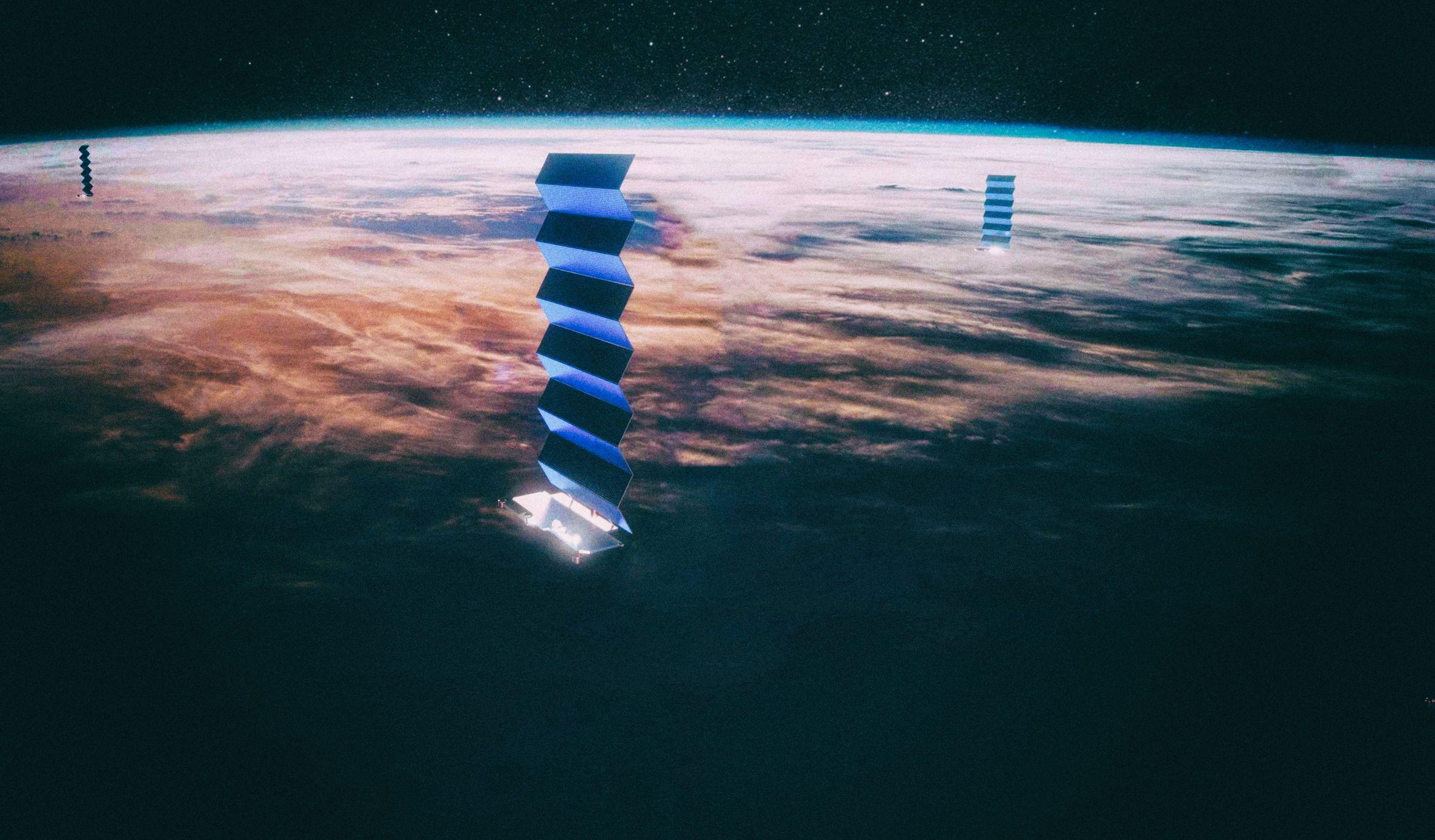 Затемненные спутники SpaceX все еще мешают астрономам