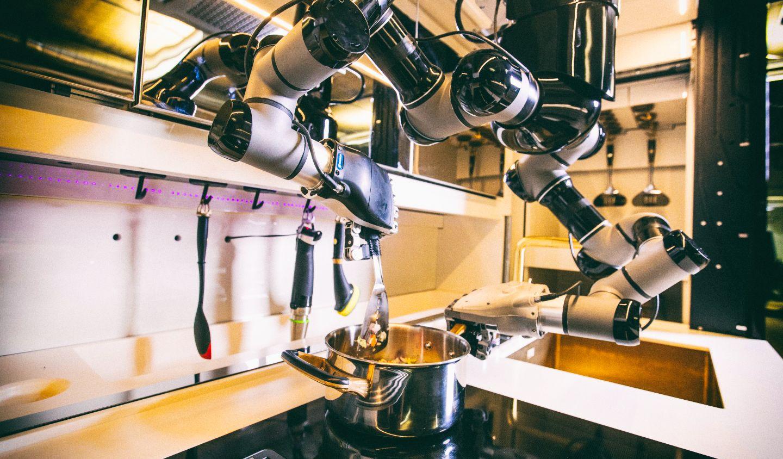 Стартовала продажа полностью роботизированных кухонь
