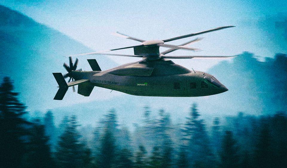 Lockheed Martin и Boeing представили штурмовой вертолет будущего