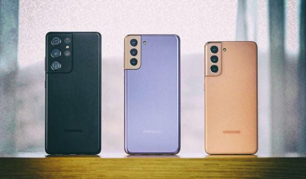 Samsung начал продажи смартфонов линейки Galaxy S21 в Украине