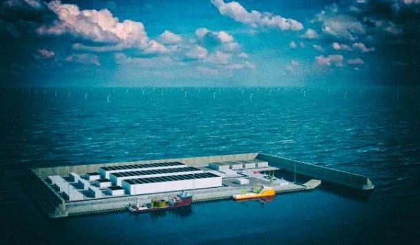 """Дания построит искусственный """"энергетический остров"""" в Северном море"""