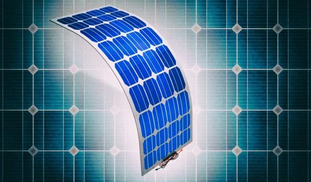 Новые гибкие солнечные панели можно складывать вдвое