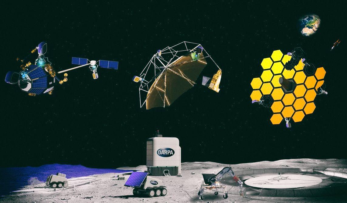 DARPA запускает программу по производству гигантских конструкций в космосе