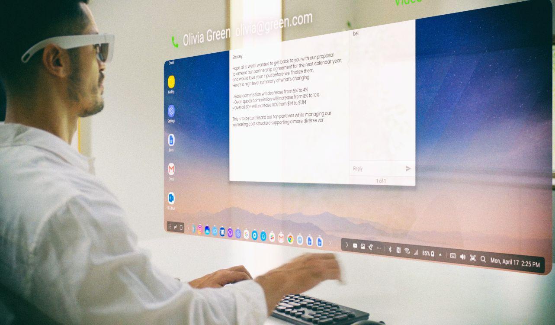 Обнародованы концепты очков дополненной реальности Samsung