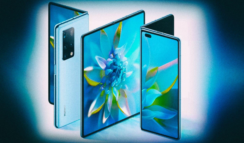 Новый гибкий смартфон Huawei Mate X2 складывается, как книжка