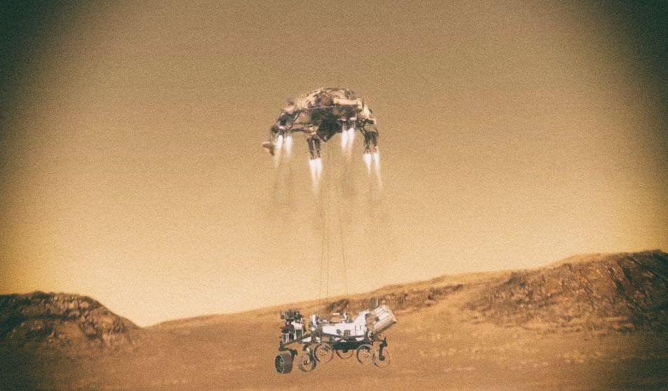NASA опубликовало видео посадки марсохода Perseverance
