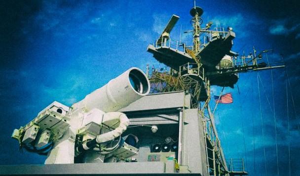 """Военные создают """"лазерный пулемет"""", испаряющий свои цели"""