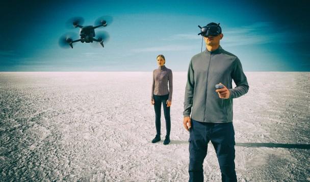 DJI представила новую систему для полётов с видом от первого лица
