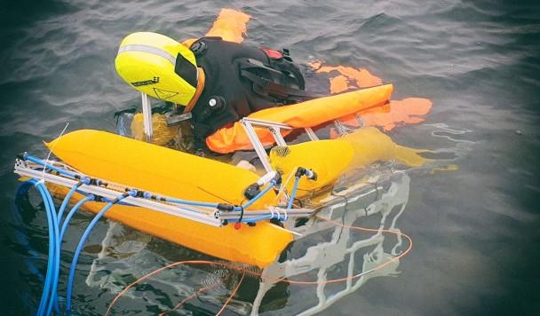 Разработан подводный робот для спасения утопающих