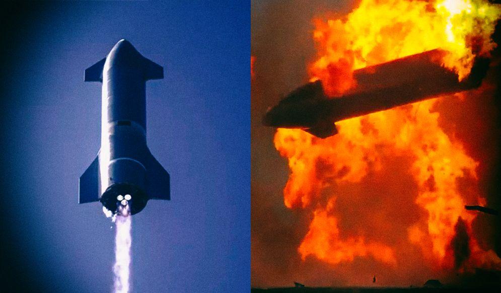 SpaceX впервые успешно посадила Starship. Но он все равно взорвался