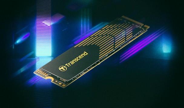 Transcend представила сверхбыстрый SSD с графеновым радиатором