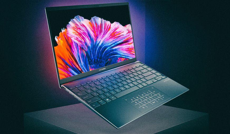 Asus представила самый легкий в мире OLED-ноутбук