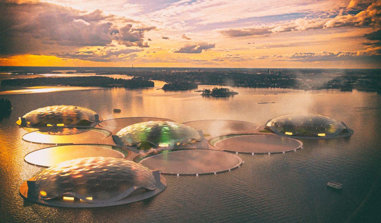Финляндия создаст тропические острова в Балтийском море