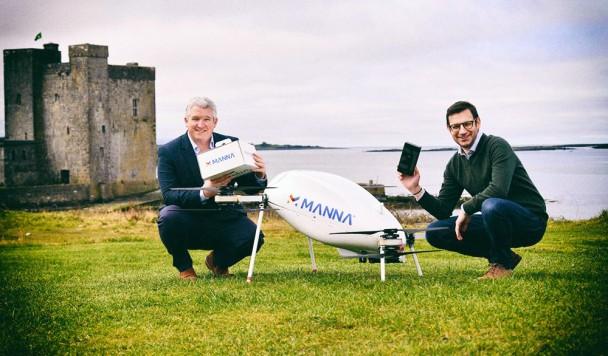 Samsung будет использовать дроны для доставки продуктов Galaxy в Ирландии