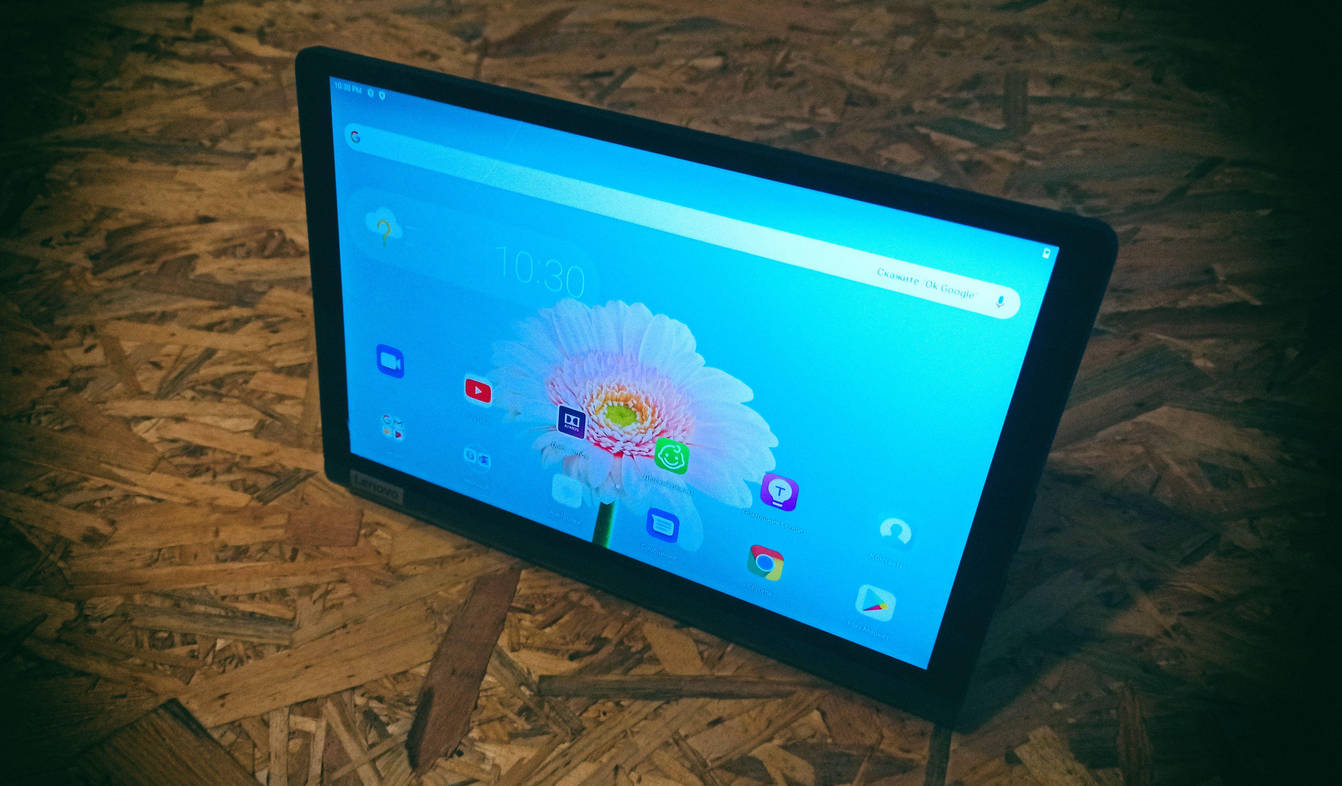 Обзор Lenovo Yoga Smart Tab: Планшет для умного дома