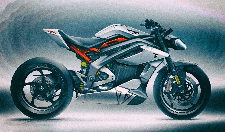 Triumph анонсировал быстрозаряжающийся электромотоцикл