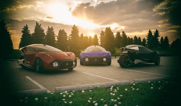 Анонсирован самый быстрый в мире трехколесный электромобиль