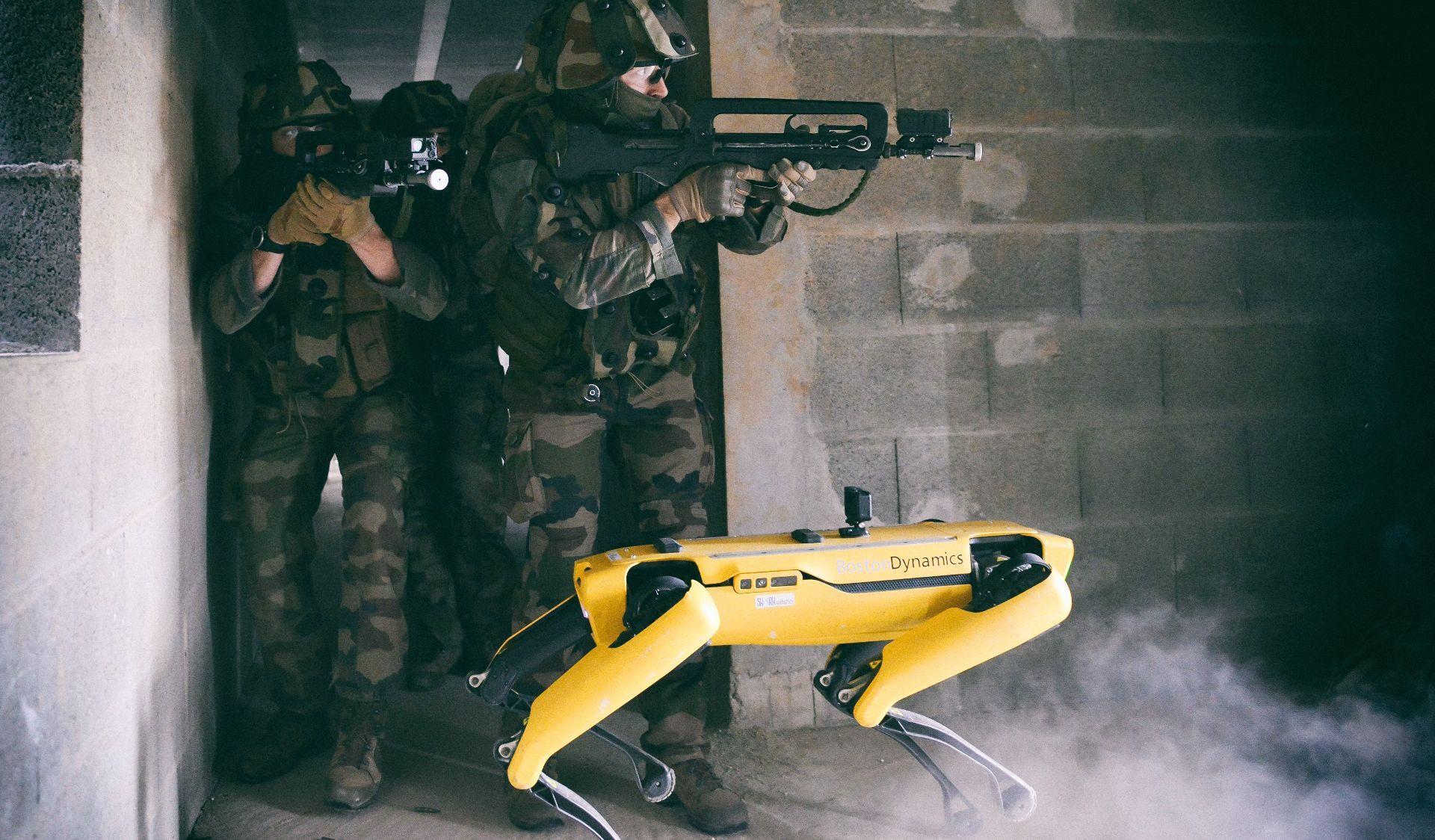 Французская армия испытала робота-пса Spot в боевой обстановке