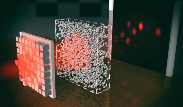 """Новые технология делает объект """"невидимым"""", пропуская сквозь него свет"""