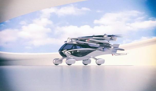 Представлен складной электромобиль, который умеет летать