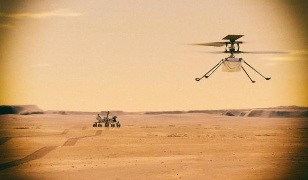 Марсианский вертолет NASA поставил новые инопланетные рекорды
