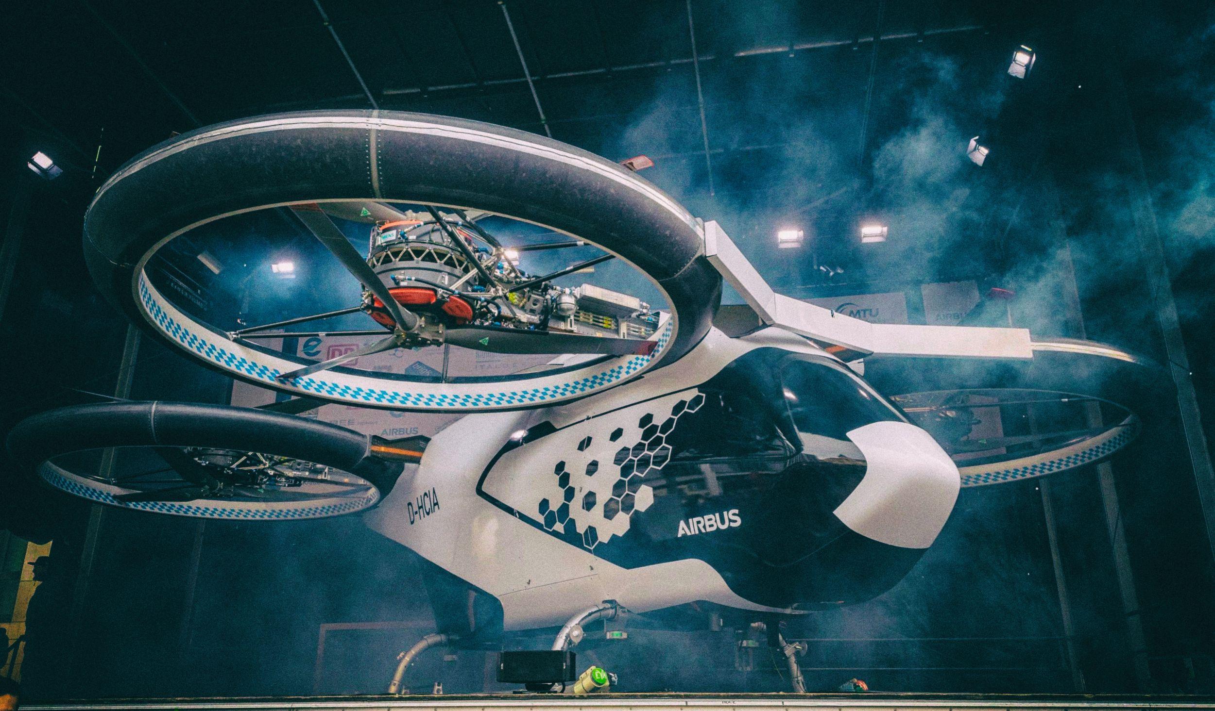 Аэромобили Airbus получат систему лазерного зрения
