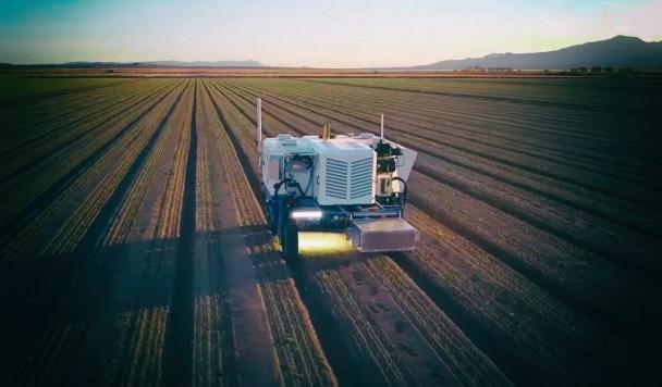Автономный робот для прополки уничтожает сорняки лазерами