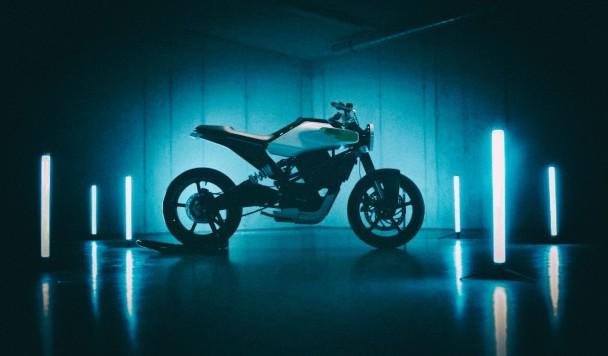 Husqvarna представила концепт электромотоцикла E-Pilen