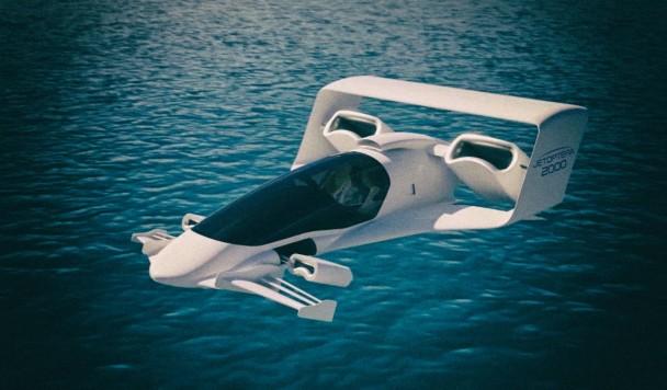 Представлен концепт уникального аппарата, летающего на безлопастных вентиляторах