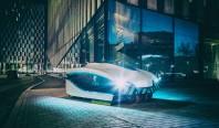 Футуристический автономный робот убирает улицы Хельсинки