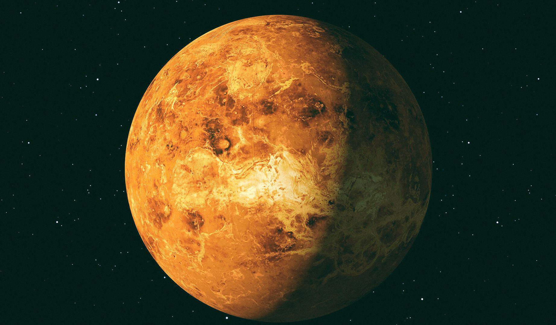 """Ученые показали, как """"звучит"""" Венера"""
