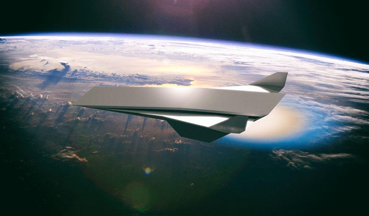 Разработан двигатель, способный разогнать самолет до 21 тыс. км/ч