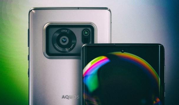 Sharp представил смартфон с огромным дюймовым сенсором камеры