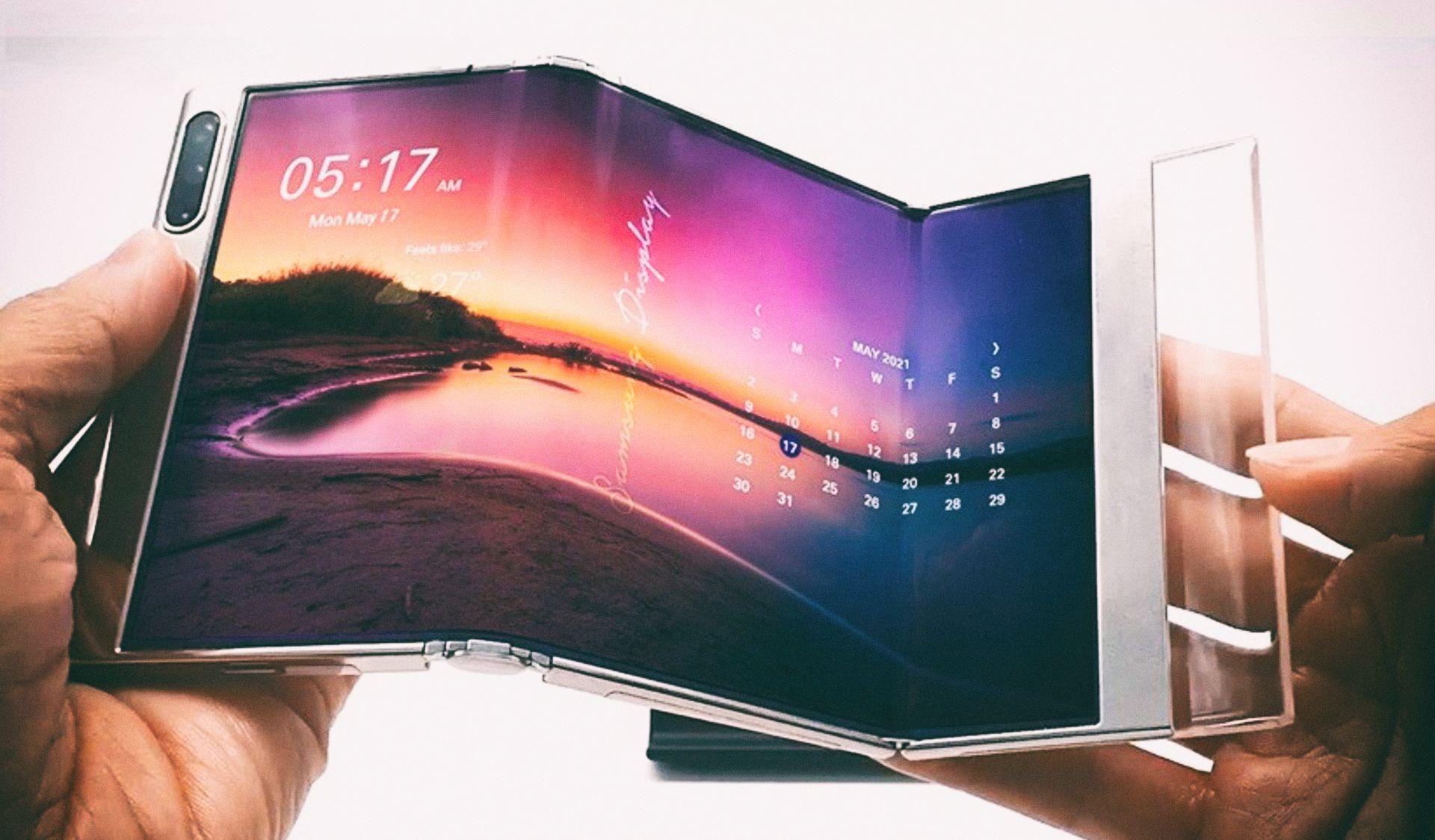 Samsung анонсировала новое поколение гибких дисплеев