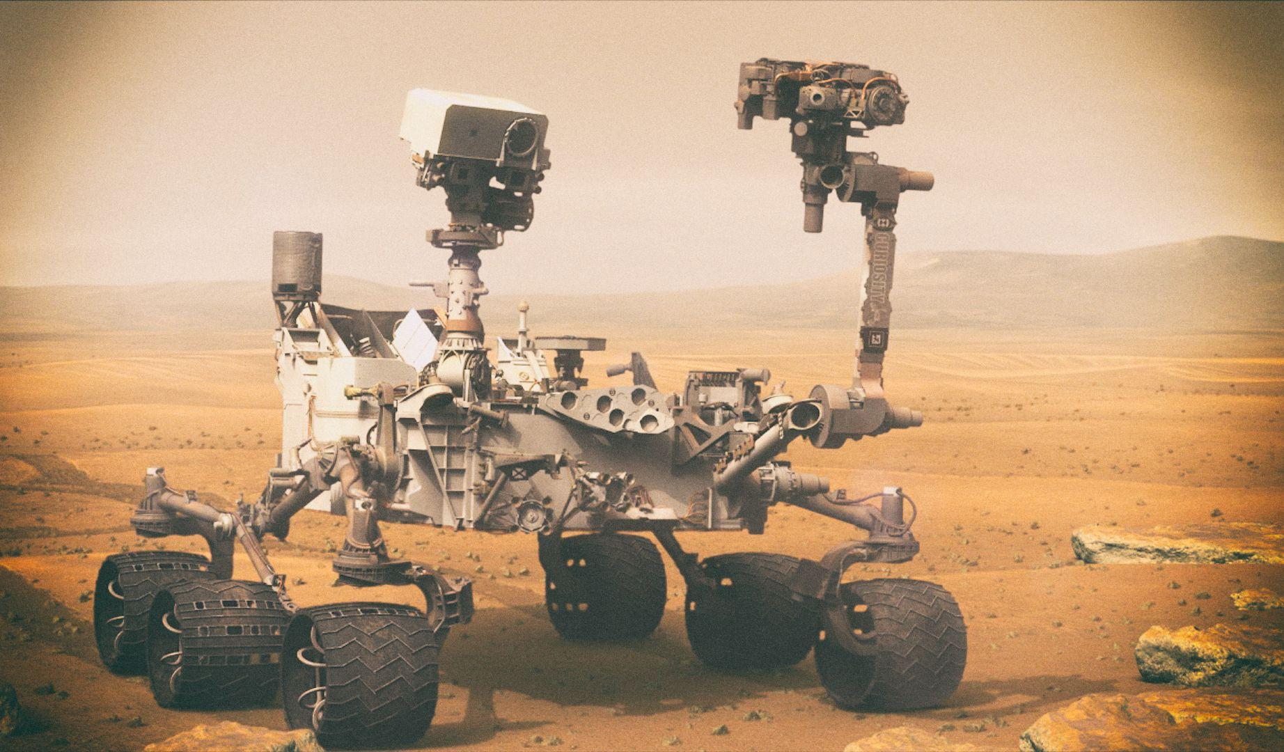 Марсоход NASA нашел на Марсе следы органики