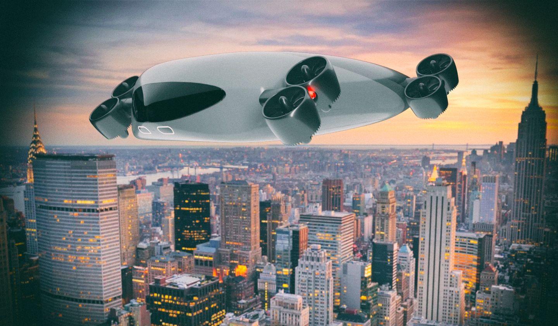 Представлен концепт колоссального летающего электробуса на 40 мест