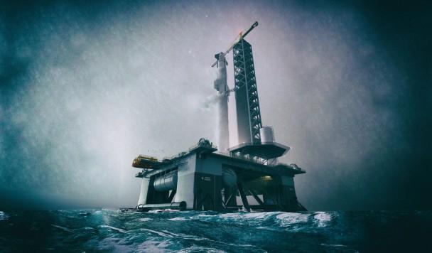 В 2022 году Илон Маск начнет запускать ракеты с океанических космодромов