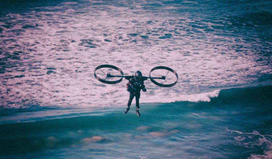 Испытан уникальный ранец-вертолет для индивидуального использования