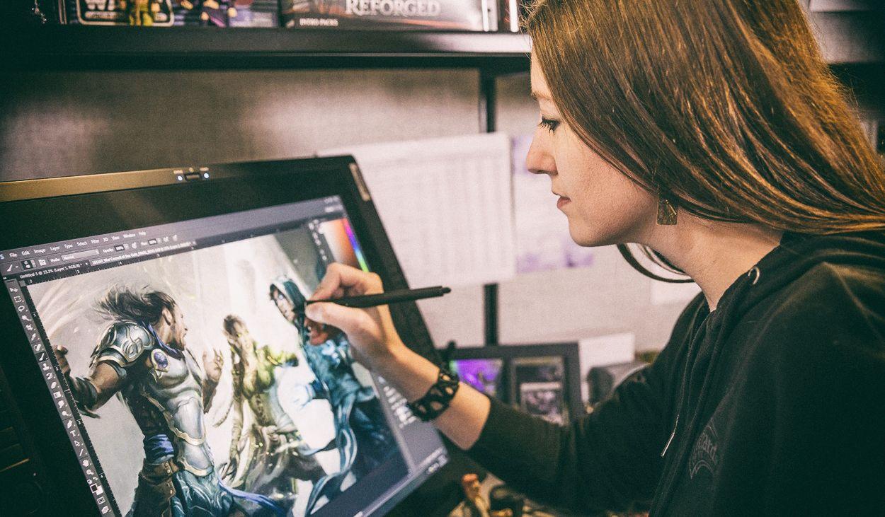 Карьера 2D-художника: арт-челлендж от AB Games, Wacom и Games Gathering