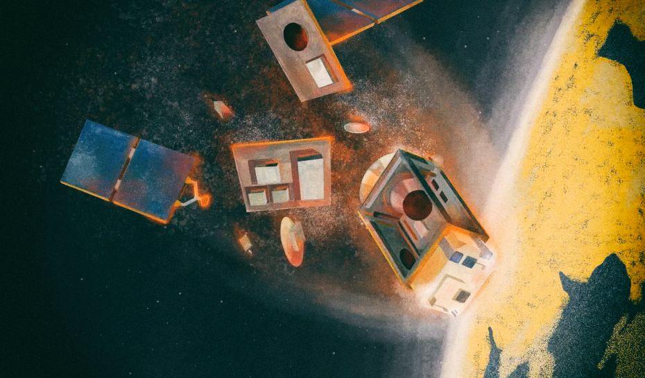 Сгорающие спутники могут изменить атмосферу Земли