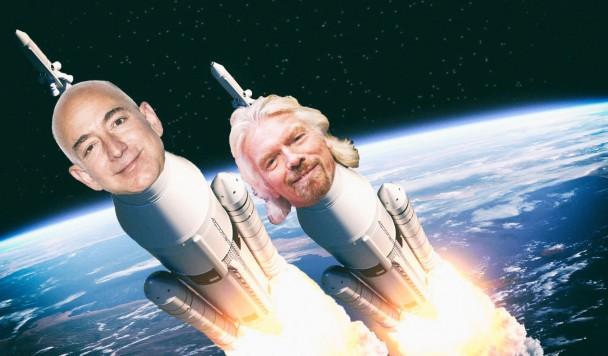 Космическая гонка: Миллиардеры наперегонки рвутся в космос