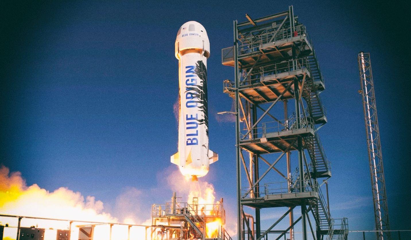 Первый билет на космический рейс Blue Origin продан за $28 млн