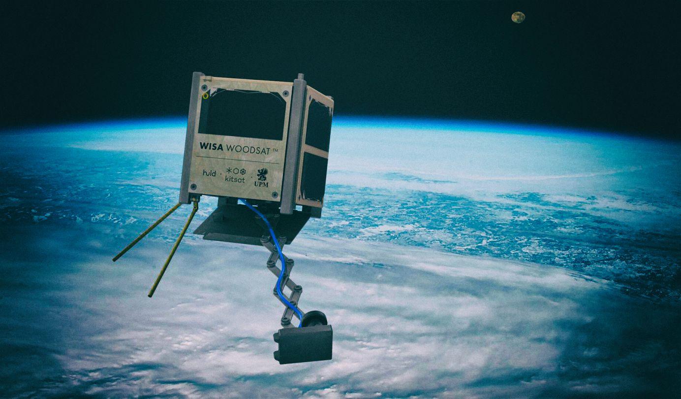 Готовится к запуску первый в мире деревянный спутник