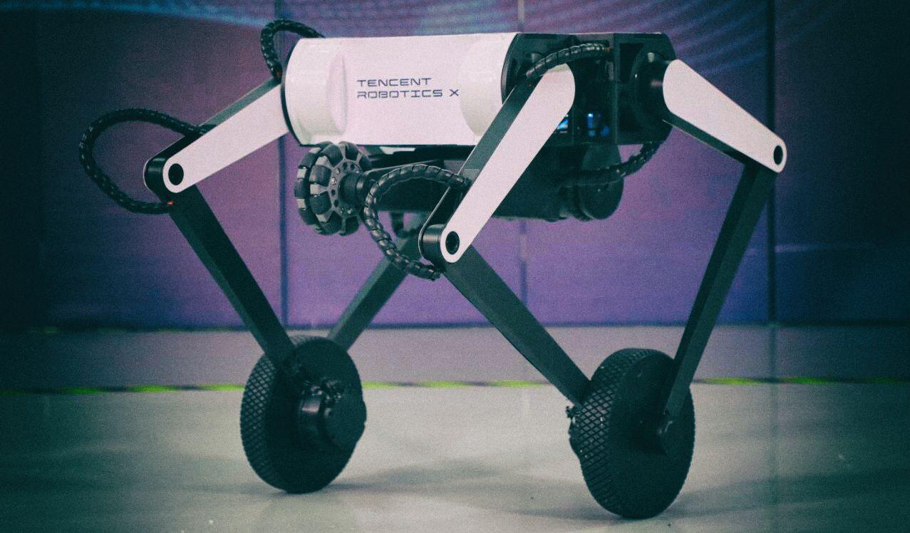 Представлен ловкий робот с ногами-колесами и хвостом