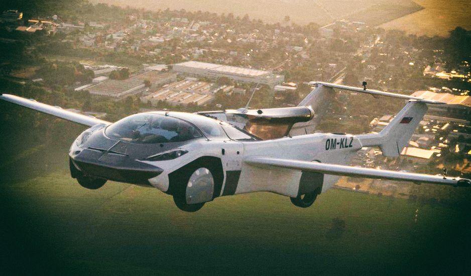 Прототип аэромобиля AirCar впервые пролетел между городами
