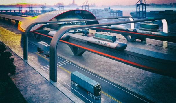 Вакуумные поезда Hyperloop cмогут доставлять грузы на сверхзвуковой скорости