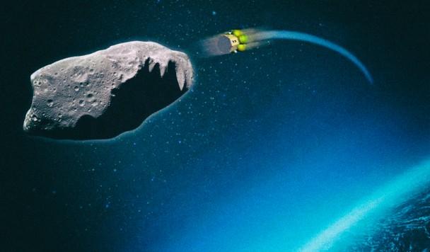 Ученые предлагают сбивать опасные астероиды спутниками
