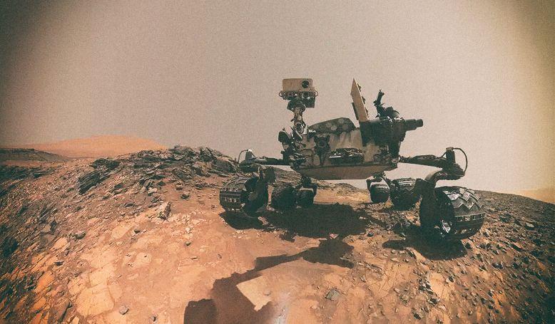 "Марсоход Curiosity учуял ""дыхание"" микробов на Марсе"