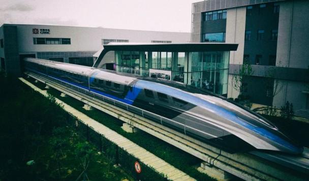 Китай представил сверхскоростной левитирующий поезд