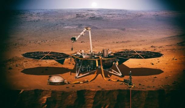 Миссия InSight заглянула в недра Марса